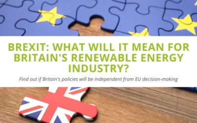Brexit: What Will It Mean for Britain's Renewable Energy Industry?