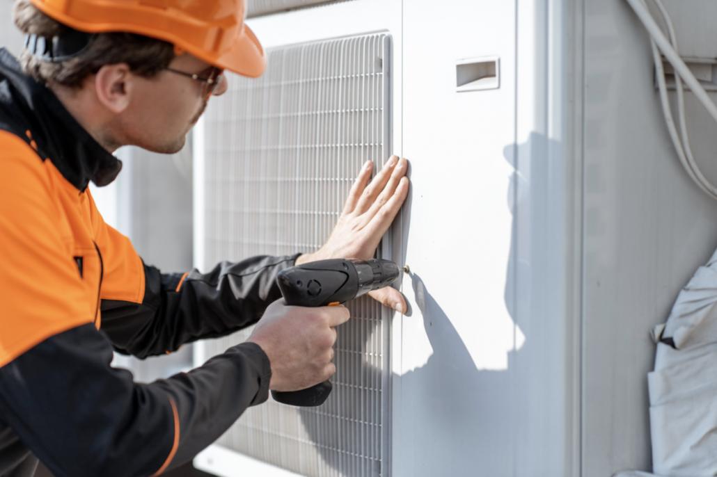 Air Source Heat Pump Install