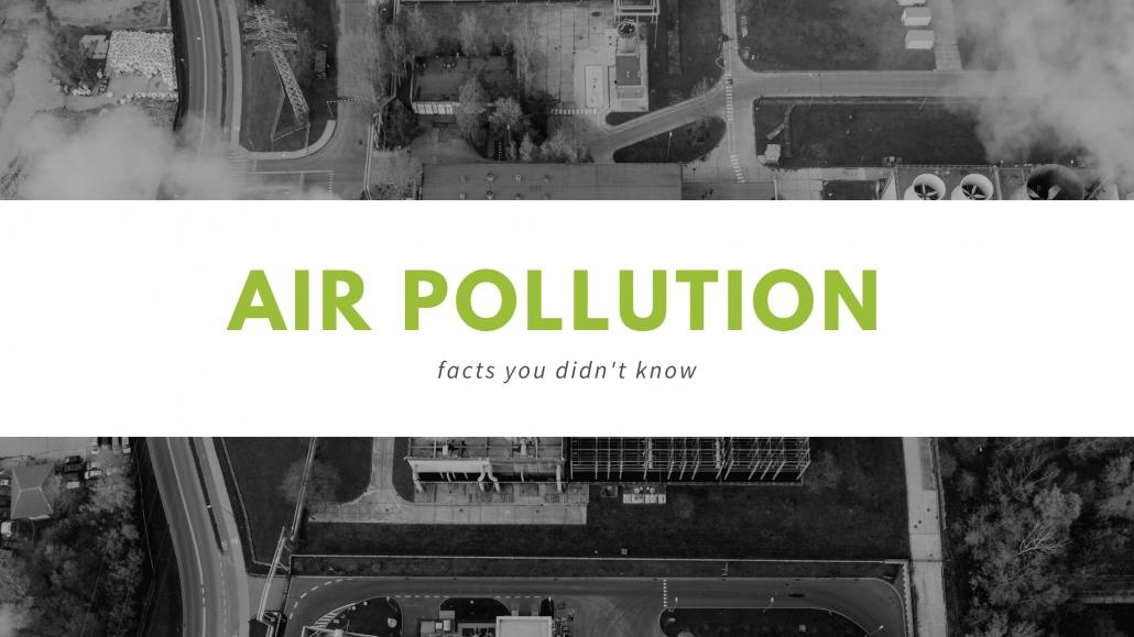 Air Pollution Banner
