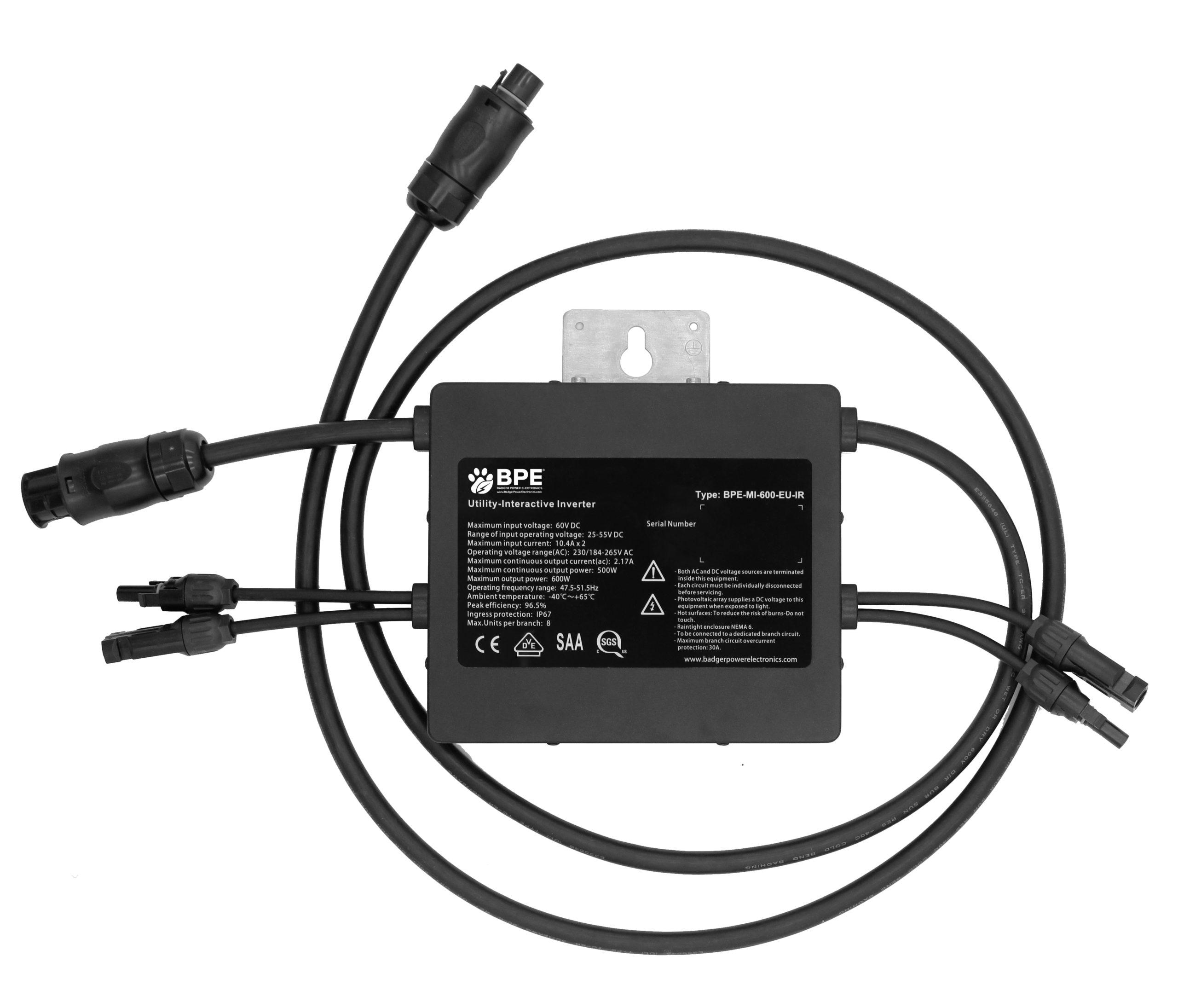 BPE Dual Port Microinverter