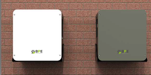 BPE H5 on wall