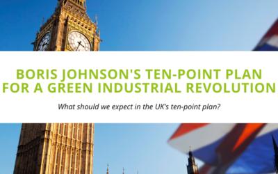 Boris Johnson's Ten-Point Plan for a Green Industrial Revolution