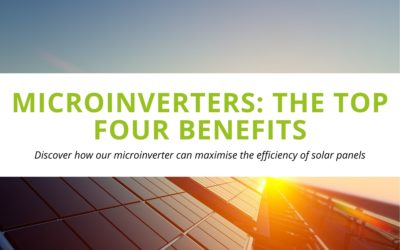 Microinverters: The Top Four Benefits