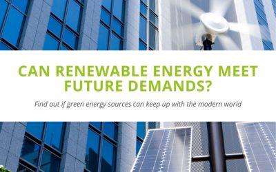 Can Renewable Energy Meet Future Demands?